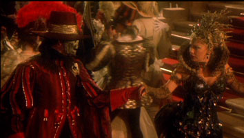 Robert Englund as Phantom. & Stephanie Lawrence as Carlotta.