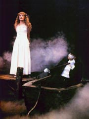 Phantom&Christine in the boat