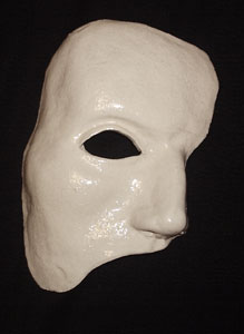 Michael Crawford's original mask. From privat collection of Anastasia.